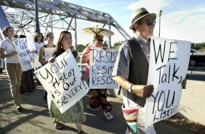 Montoya Protest