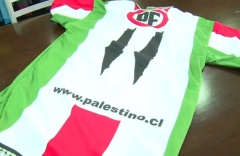 Club Deportivo Palestino's new jerseys have caused an uproar in Chile