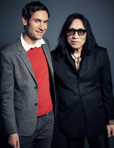 Bendjelloul (left) and Sugar Man Rodriguez were photographed by Joe Pugliese on Jan. 16, 2013, at THR's offices in Los Angeles. Click here for a behind-the-scenes video.