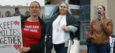 Izq a Der: Maria Poblet, Maria Hernandez, Ariana Gil.